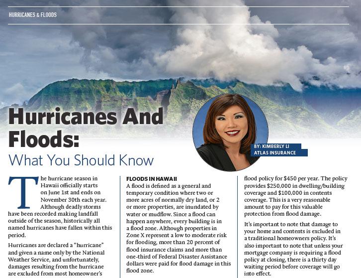 Kim Li Hurricane and Flood