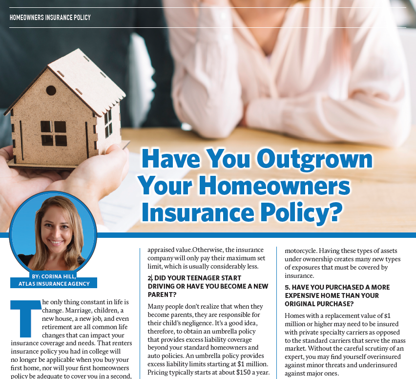 outgrown home owners policy