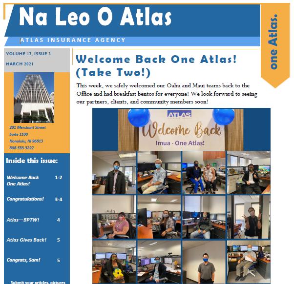 Na Leo Newsletter March 2021
