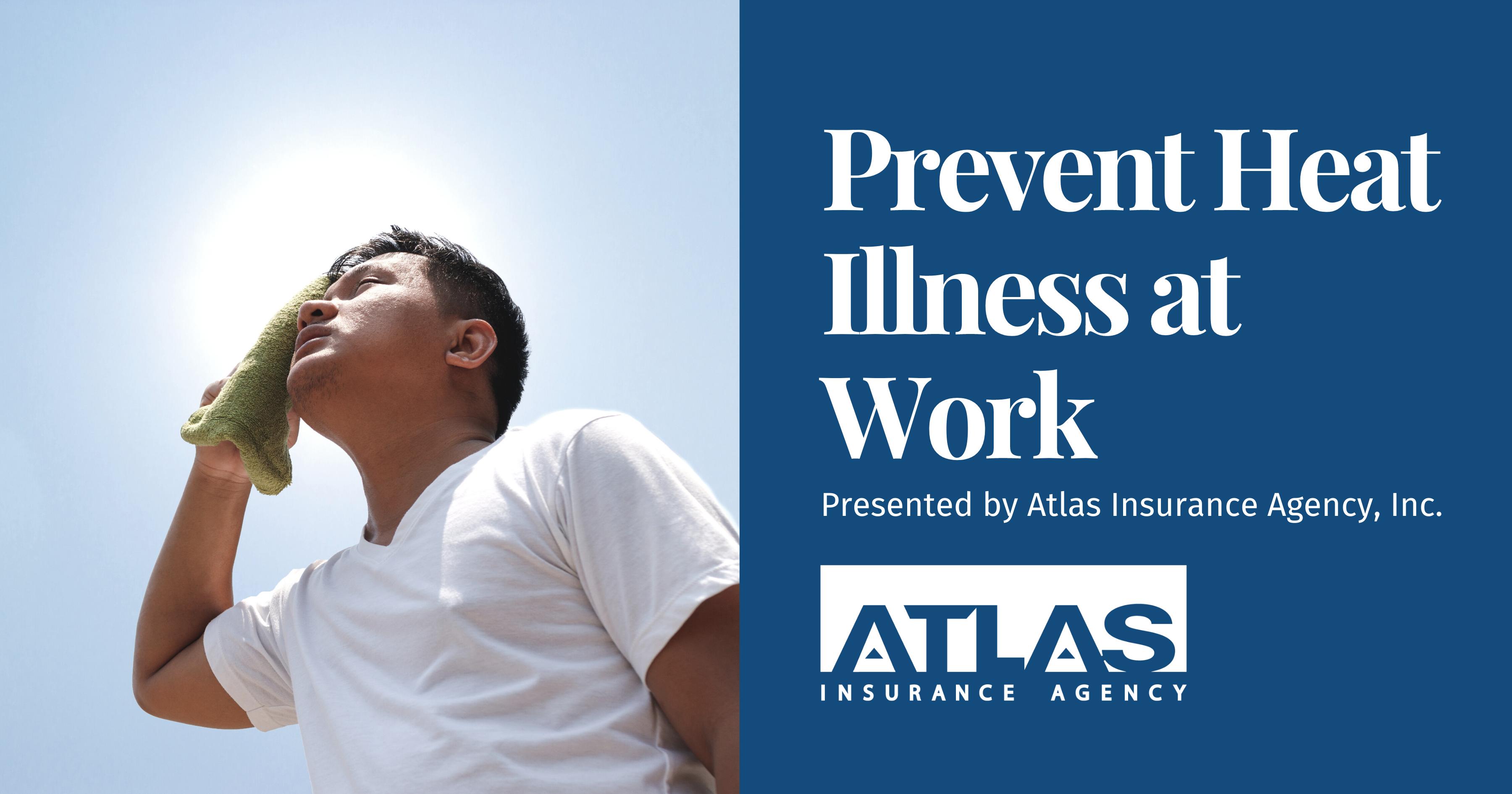 Prevent Heat Illness at Work