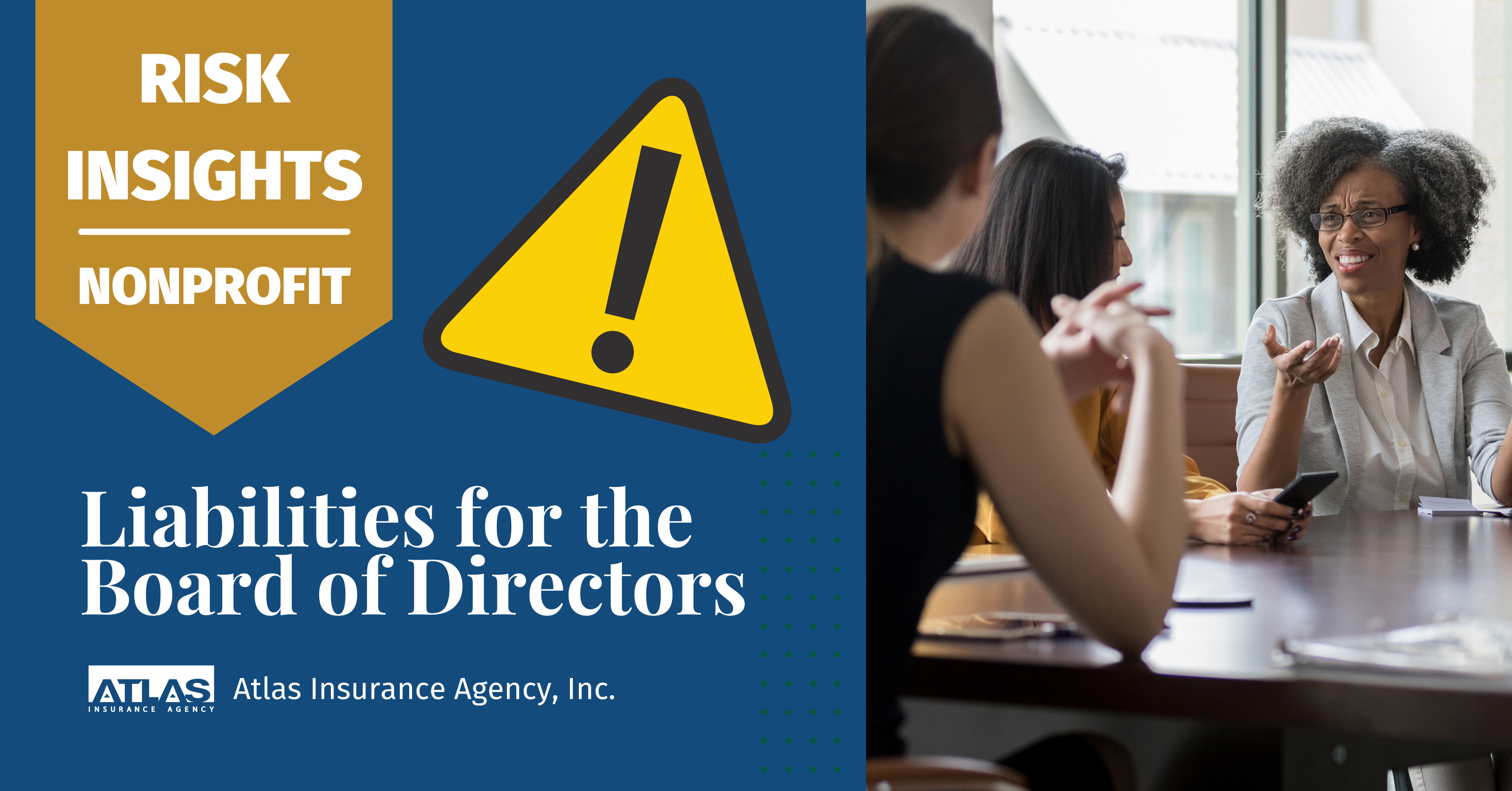 Risk Insights – Nonprofit: Liabilities for the Board of Directors
